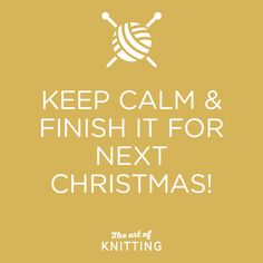 You started yet?! #knit #knitting #artofknitting