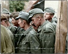 German Prisoners of War, France c.1944.