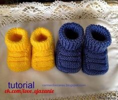 Free knitting patterns baby booties knitting patterns for baby bootees free patterns by nettte – Artofit Baby Knitting Patterns, Baby Booties Knitting Pattern, Crochet Baby Booties, Knitting For Kids, Free Knitting, Knitting Projects, Baby Slippers, Baby Socks, Baby Hats