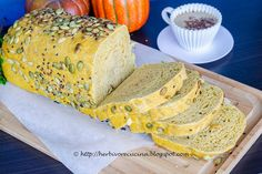 Herbivore Cucina: Multigrain Pumpkin Bread for #BreadBakers...It is Fall and it…