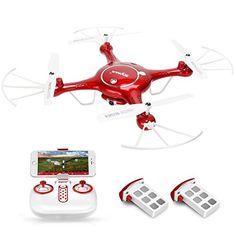 GoolRC SYMA X5UW Drone con Cámara HD 720P Wifi FPV RTF Quadcopter con Modo sin Cabeza Mantenimiento de Altura con Bateria Extra - http://www.midronepro.com/producto/goolrc-syma-x5uw-drone-con-camara-hd-720p-wifi-fpv-rtf-quadcopter-con-modo-sin-cabeza-mantenimiento-de-altura-con-bateria-extra/