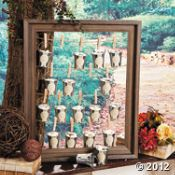 Wedding favor holder ... with photos of the people who attend!