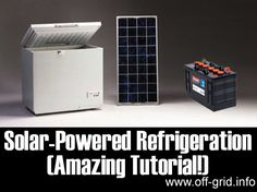 Please Share This Page: Image – backwoodshome.com We found an in-depth article about solar powered refrigeration that will give you plenty of guidance and information to choose the right unit for your situation – the solar fridge is perfect for remote locations, RV's and boats, or to use as a back up in power outages, [...]