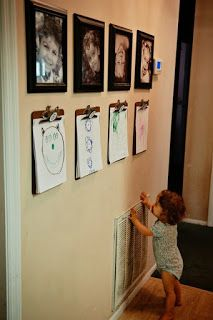 Tips for Displaying Children's Artwork