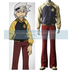 Click to Buy << Soul Eater Evans Halloween Cosplay Costume Anime costume #