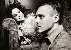 This ethereal portrait of Régine Chassagne and Win Butler of Arcade Fire was shot by Montreal photographer Carl Lessard for Vanity Fair magazine.  Just like that.