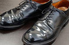 Alden saddle blucher Alden 990, Cordovan Shoes, White Boots, Derby Shoes, Shoe Collection, Get Dressed, Men's Fashion, Oxford Shoes, Shell