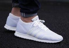 Adidas Los Angeles Triple White post image