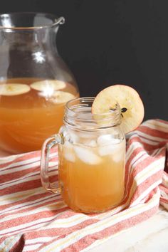 Sparkling Bourbon Pumpkin Apple Punch is the PERFECT autumnal punch! Sprouts Organic Pumpkin Spiced Apple Cider acts as the base of this crowd pleasing drink, then ginger ale and maple simple syrup are stirred in. For the final touch, we add bourbon. This Sparkling Bourbon Pumpkin Apple Punch sings of pumpkin and apple, as well as seasonal spices like cinnamon, nutmeg and allspice. This punch would make a unique Thanksgiving cocktail. #spon
