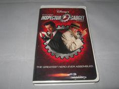#disney #inspectorgadget #movies #video #vhs #familymovie #childrens #vhs #matthewbroderick #ruperteverett #bonanza