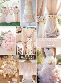 Today I bring you the stunning Champagne and Blush Pantone colours for your wedding! What a dreamy combination, and would be perfect for the start of Autumn