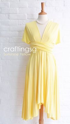 Infinity dress, by craftingsg on etsy.com