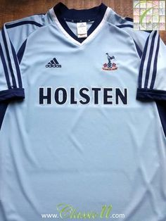 Relive Tottenham Hotspur s 2001 2002 season with this original Adidas away  football shirt. Vintage 7fc354fb4