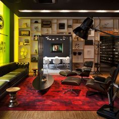 CITIZENM Glasgow hotel meeting room - other Citizen locations: Amsterdam, Rotterdam, New York, Paris & London