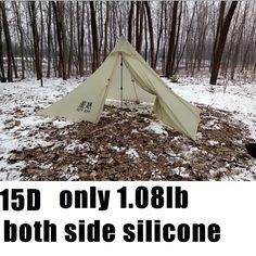 Find More Tents Information about 490g Oudoor Ultralight  Camping Tent 4 Season 1 Single Person 15D Both Sides Silicone Pyramid lightweight Rodless Tent,High Quality tent wholesaler,China tent pvc Suppliers, Cheap tent stock from 3F UL GEAR store on Aliexpress.com
