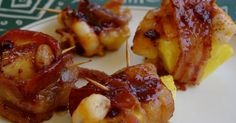 Mennonite Girls Can Cook: Bacon Wrapped Shrimp and Pineapple