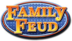 "Found this FREE template to make your own Family Feud game on a youtube page.  Youtube source:  https://www.youtube.com/watch?v=dOSj1hyCiBg.  Template can be downloaded free by pressing the green ""DOWNLOAD"" button:  http://www.mediafire.com/download/mo5gmn22zwj/FAMILY+FEUD+POWERPOINT+2007.rar Logo credits:    http://upload.wikimedia.org/wikipedia/en/7/77/FamilyFeud2007Logo.png"