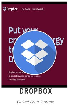 Dropbox - A file hosting service Great Apps, Focus On Yourself, Virtual Assistant, Learning, Studying, Teaching, Onderwijs