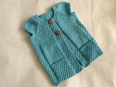 Ravelry: sofiecat's Little girl's cardi vest