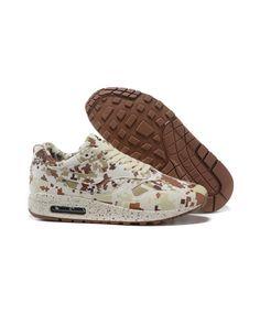 online store 31c41 220f5 Women s Nike Air Max 1 MC SP Print Shoes Beige khaki Light Green Sale