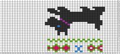 Tricksy Knitter Charts: Scotty dog (74053)