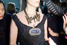 Alber Elbaz Fun Statement Necklaces for Lanvin