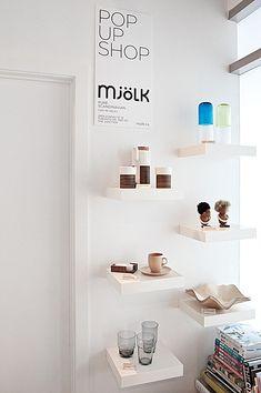 Ikea shelves :)