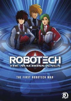 Robotech Season 1: First Robotech War DVD Collection (D) (Macross Saga) #RightStuf2013