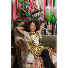 Super party kids fashion little girls ideas Cute Kids Fashion, Tween Fashion, Little Girl Fashion, Girls Party Dress, Girls Dresses, Night Outfits, Kids Outfits, Persnickety Clothing, Gold Dress