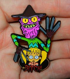Scary Terry Pin Rick and Morty Free Ship U.S.