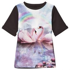 Stella McCartney Kids Rainbow Swan Dress