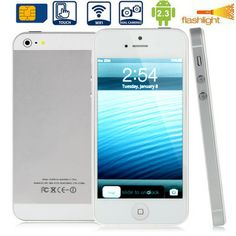 : MTK6515M, 4.0 inch Capacitive Touch Screen Mobile Phone with WIFI