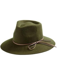 Michael Stars Tied & Trimmed Wide Brim Hat | Piperlime
