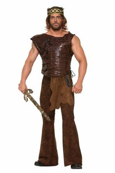Medieval Fantasy King's Faux Chest Armor - One Size: Plus (up to a chest size 48) #armor #yyc #king #costume