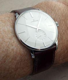 ABlogToWatch: Junghans Meister Handwind Watch Review---    Ultra-thin luxury...