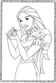 pocahontas coloring pages - Google-søgning