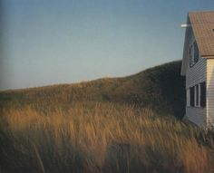 Joel Meyerowitz - Dune Grass, House, Truro (1984)