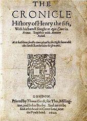 Henry V - Shakespeare #13/50