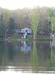 Cabin in the woods. Michigan.