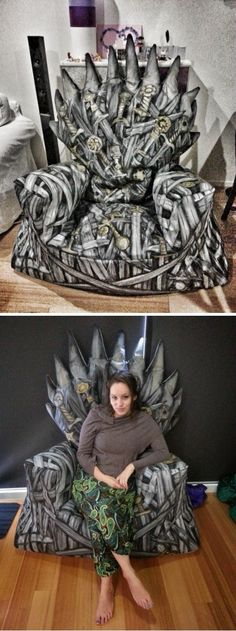 Beanbag Iron Throne