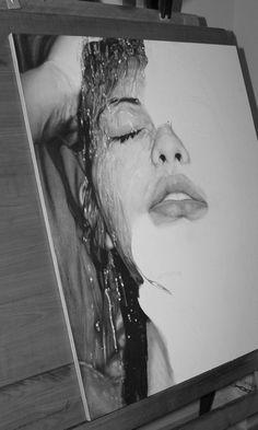 Pencil drawing by Diego Fazio
