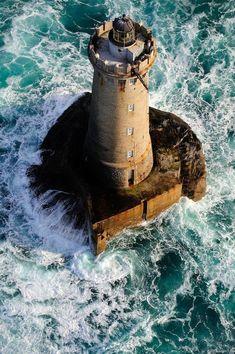 Lighthouse Aniva, Sakhalin, Sea of Okhotsk, Russia