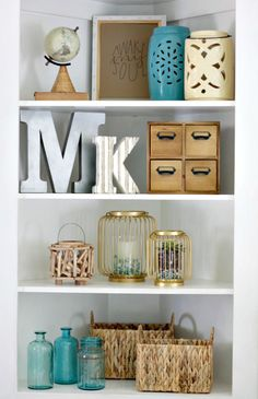Shelf Decorating Ideas 20 ways to artfully style all the shelves in your home | tes, taps