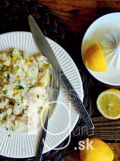 Krémová rýže s tuňákem a zeleninou