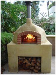 Design for brick oven