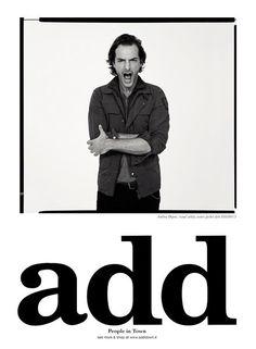 Die Sommerkampagne von ADD wurde von Achim Lippoth fotografiert.  People in Town wearing ADD.