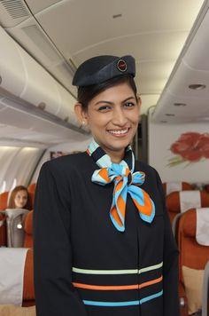 Stewardess Uniform of Air Mauritius