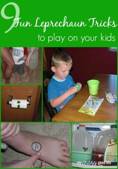 9 Fun Leprechaun Tricks To Play On Your Kids - My Crazy Good Life