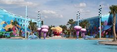 Disney's Art of Animation Resort Hotel Information and pictures for Walt Disney World in Orlando, Florida.