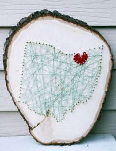 Hometown String Art